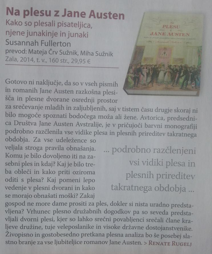 Recenzija Na plesu z Jane Austen