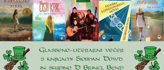 Besedna postaja: irski večer glasbe in literature