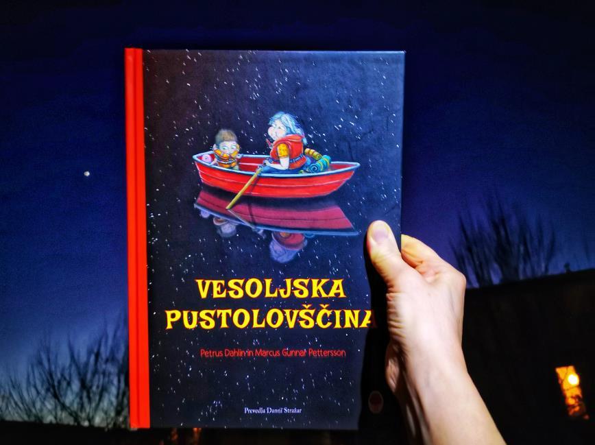 Recenzija, Vesoljska pustolovščina, mag. maja Črepinšek, Moj malček