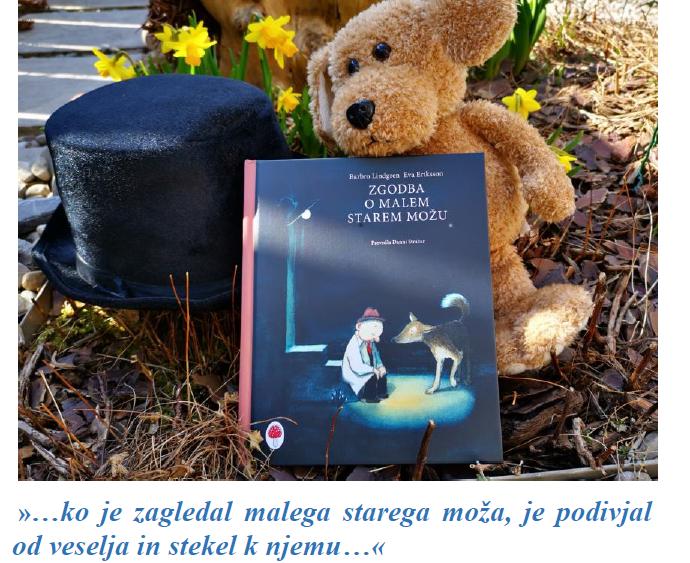 Zgodba o malem starem možu, Moj malček, marec 21, mag. Maja Črepinšek