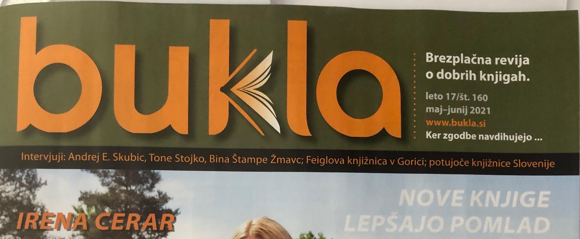 Milijonček za prijaznost, Bukla, maj-junij 2021